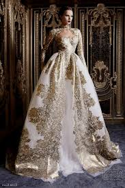 fascinating gold wedding dresses gold wedding dresses with sleeves