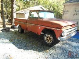 CHEVY PICKUP C10 SHORTBED FLEETSIDE HIGHLY OPTIONED