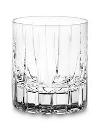dorset crystal double old fashioned glasses