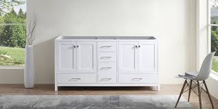 Espresso finish (interior and exterior) sink base cabinet: Shop Vanities Without Tops Bathroom Vanities Luxury Living Direct