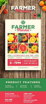 How To Make A Digital Flyer Farmer Market Flyer Farmers Market Marketing Marketing