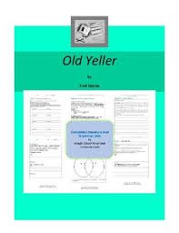 old yeller complete literature and grammar unit tpt old yeller complete literature and grammar unit