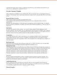 Plans Wondrous Executive Summary Business Plan Photo Highest
