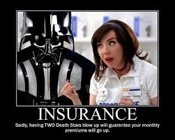 totaling two stars will cause your insurance to skyrocket