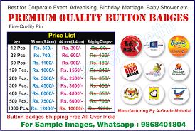 Online Badge Delhi Ncr Button Badges L Epoxy Name Badge L Pocket Name