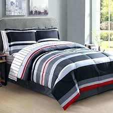 kate spade white sheets d boys full sized rugby stripes comforter set colors gray grey black