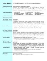 Resume Samples For Sales And Marketing Manager Valid Sales