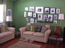 Living Room Wall Colour Excellent Living Room Paint Ideas With Green Wall Color Furnished