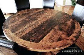 solid wood childrens table and chairs reclaimed round hardwood in northern cottage blog tables 2