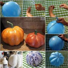paper mache pumpkins these are the best fall craft ideas diy home