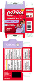 Childrens Tylenol Powder Johnson Johnson Consumer Inc