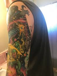 Go To Space With A Marvel Infinity War Tattoo Sleeve Nerdist
