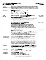 need help with my resume .