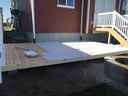 simple wood patio designs. How To Build A Simple DIY Deck On Budget Wood Patio Designs