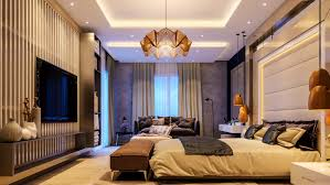 Luxury Bedroom Curtains Bedroom Glamorous Bedroom Amber Origami Chandelier Grey And