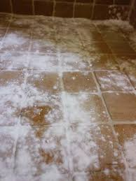 cleaning grout baking soda