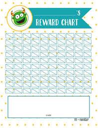 Download Reward Chart Preschool And School Age Printable Reward Chart