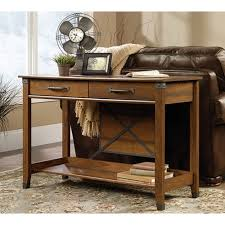 entryway console table. Carson Forge Washington Cherry Storage Console Table Entryway