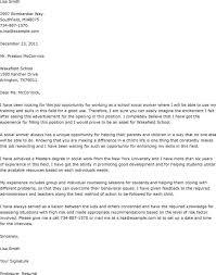 Cover Letter For Hospital Social Worker Job Eursto Com