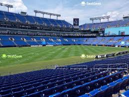 Ravens Stadium Interactive Seating Chart Your Ticket To Sports Concerts More Seatgeek