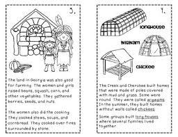 Creek And Cherokee Venn Diagram Creek And Cherokee Indians For Kids