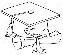 Dibujos Birrete Y Diploma De Graduación