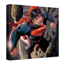superman space flight canvas wall art with back board  on flight canvas wall art with superman space flight canvas wall art with back board anime gears