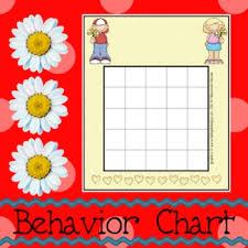 Behavior Chart Flowers