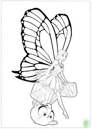 Fairy Princess Coloring Page Barbie Fairy Princess Coloring Pages