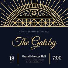 Great Gatsby Invitation Template Great Gatsby Invitations Template Limoges Me