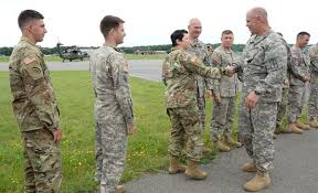 Flight Warrant Officer New York Army National Guard Pilot Makes Last Landing After 31 Years