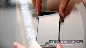 How to put on a <b>Tempered Glass</b> Screen Protector <b>iPhone</b> X, 10, 8, 7 ...