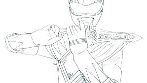 Mighty Morphin Power Rangers Coloring Pages Mighty Power Rangers