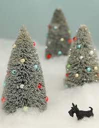 30 Cheap DIY Christmas Decorations. BottlebrushGlitter ...