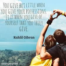 Kahlil Gibran Quote Sleeping Angel
