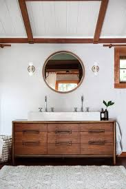 mid century modern bathroom vanity. terrific bathroom inspirations: remarkable 37 amazing mid century modern bathrooms to soak your senses vanity r