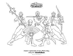 Power Rangers Samurai Coloring Pages With Coloriage Power Rangers