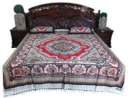 bed sheet indian print 100 cotton bed cover ethnic bedspread