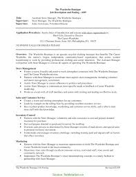 Good Retail Manager Resume Pdf Manager Responsibilities For Resumes