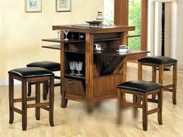 kitchen table counter height acme drop leaf counter height dining table in walnut counter height kitchen