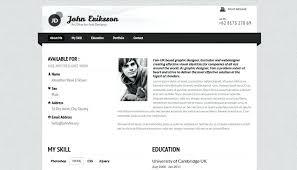 Resume Website Examples Professional Resume Website Best Resume