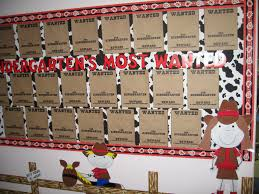 Western Theme Add Students Pictures On First Day Love The Cow