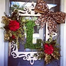 front door hangings30 best Door decorations images on Pinterest  Spring wreaths