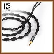 [Best Price] <b>KBEAR 4</b> Core 7N Single Crystal <b>Copper Cable</b> 2.5/3.5 ...