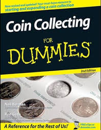 coin collector books and other reading materials