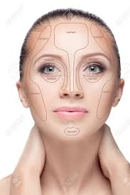 contouring make up woman face contour and highlight makeup professional contouring face make