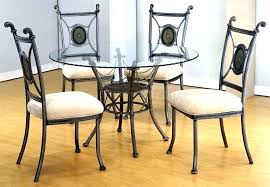 small glass top table small glass top dining table wrought iron glass table outstanding dining room