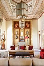 villa morocco terranean living room