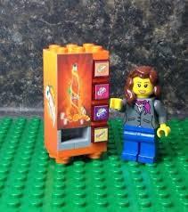 Modular Vending Machines Extraordinary LEGO SODA VENDING Machine Modular Town City Stickers Coca Cola