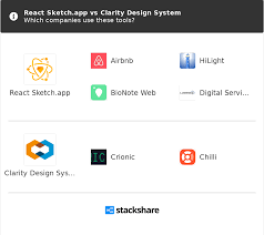 Clarity Design React Sketch App Vs Clarity Design System What Are The